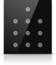 Picture of MONA 10 BUTTON SWITCH BLACK