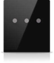 Picture of MONA 3 BUTTON SWITCH BLACK