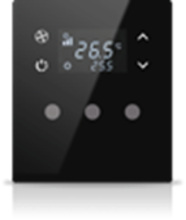 Picture of MONA 3 BUTTON THERMOSTAT BLACK