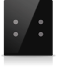 Picture of MONA 4 BUTTON SWITCH BLACK