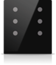 Picture of MONA 6 BUTTON SWITCH BLACK