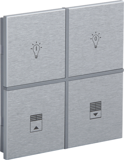 Picture of Rosa Metal Switch 2F Natural Status Icon