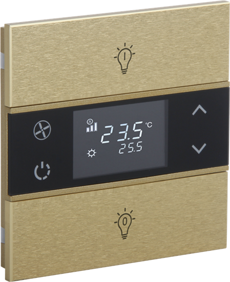 Picture of Rosa Metal Thermostat 1F Gold Status Icon