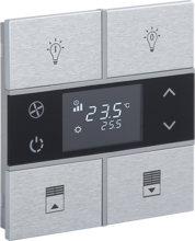 Picture of Rosa Metal Thermostat 2F Natural Status Icon