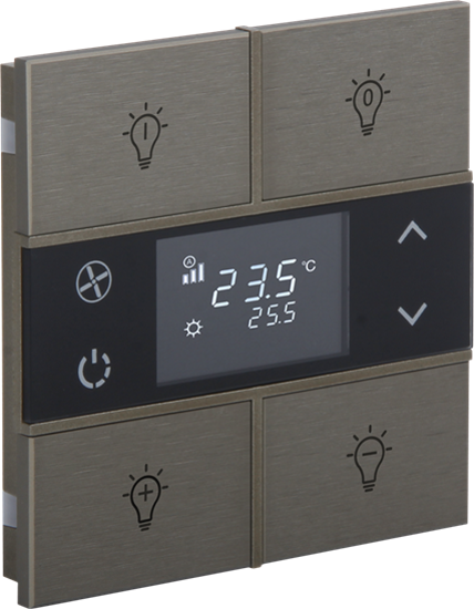 Picture of Rosa Metal Thermostat 2F Bronze Status Icon