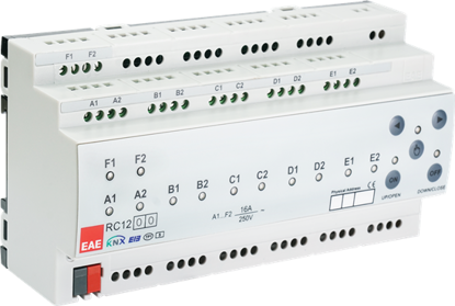 Picture of KNX Room Control Unit 12ch, Fancoil, Switch, Blind actuator