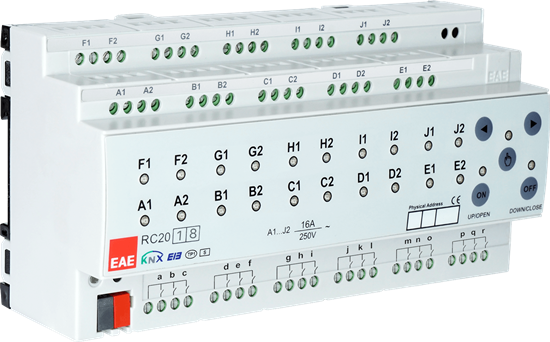 Picture of KNX Room Control Unit 20ch, 18Input, Fancoil, Switch, Blind actuator
