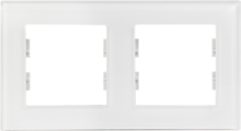 Picture of ROSA GLASS FRAME DOUBLE PEARL WHITE