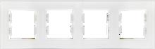 Picture of ROSA GLASS FRAME QUADRUPLE PEARL WHITE