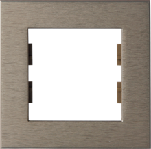 Picture of ROSA FRAME 1 GANG BRONZE
