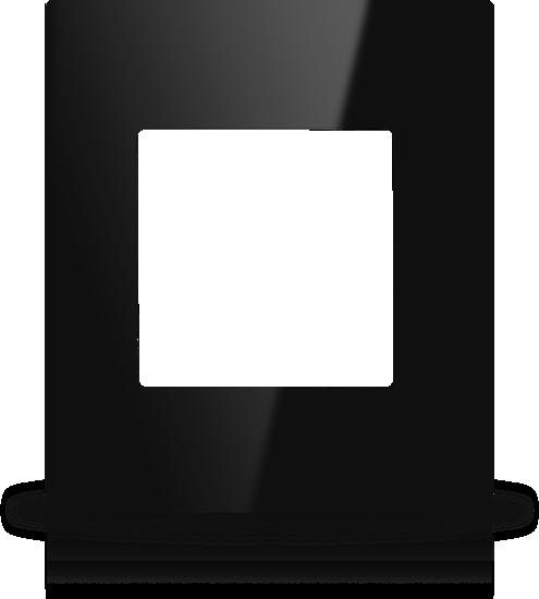 Picture of MONA  FRAME EUROPEAN SINGLE BLACK