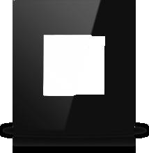 Picture of MONA  FRAME MODULAR EUROPEAN SINGLE 2M BLACK