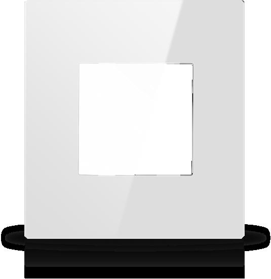 Picture of MONA  FRAME MODULAR EUROPEAN SINGLE 2M WHITE