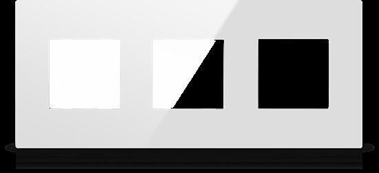 Picture of MONA  FRAME MODULAR EUROPEAN TRIPPLE 2M WHITE