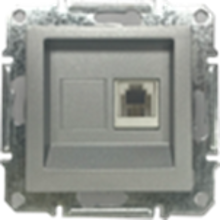 Picture of SINGLE RJ11 TELEPHONE NATURAL