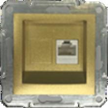 Picture of SINGLE RJ45 CAT.6 UTP DATA GOLD