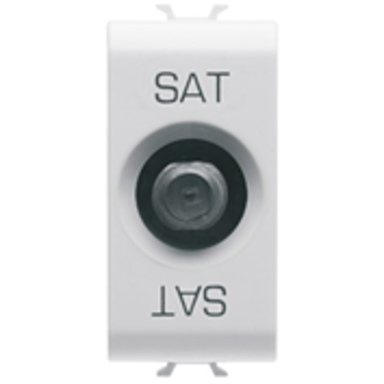 Picture of F TYPE TV SOCKET 1M PEARL WHITE