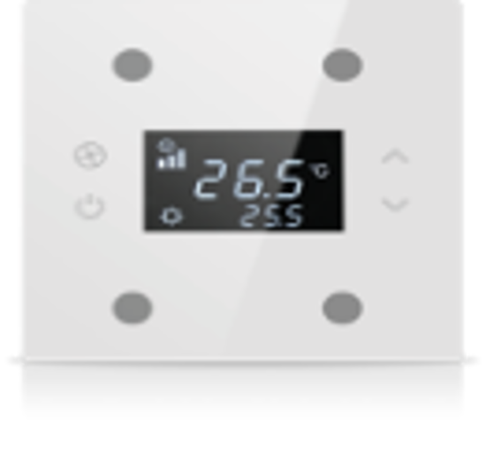 Picture of Rosa Solid Thermostat 2F White