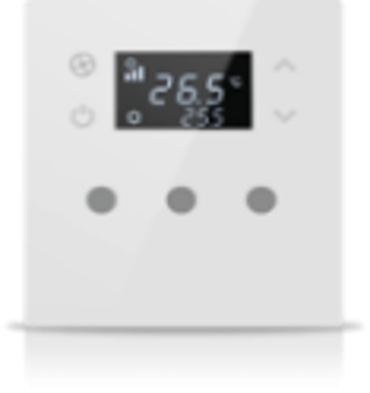 Picture of MONA 3 BUTTON THERMOSTAT WHITE