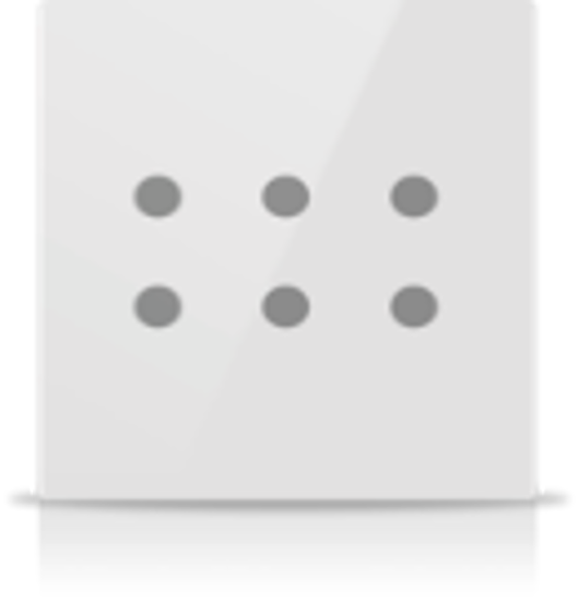 Picture of MONA 6 BUTTON SWITCH WHITE