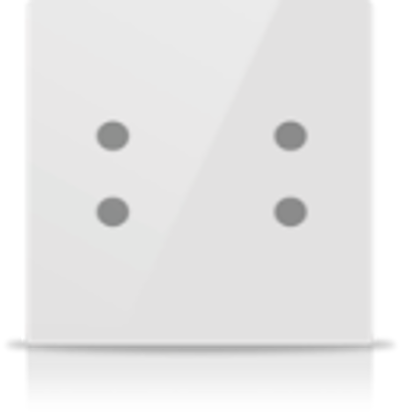Picture of MONA 4 BUTTON SWITCH WHITE