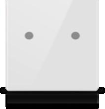 Picture of MONA 2 BUTTON SWITCH WHITE