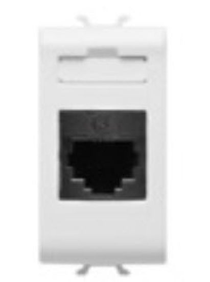 Picture of TELEPHONE CONNECTOR RJ11 IN-OUT 1M PEARL WHITE
