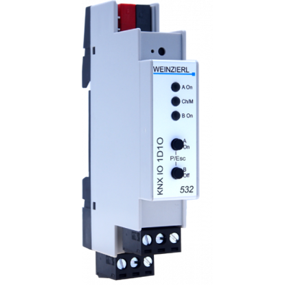 Picture of Weinzierl KNX IO 532 LED dimming actuator 1-way and switching actuator 1-way