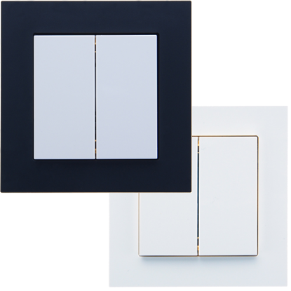 Picture of Weinzierl Frame Fusion 1-fold white - frame for series MATCH 55