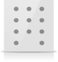 Picture of MONA 11 BUTTON SWITCH WHITE