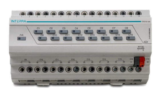Picture of 16 Channel Knx Combo Switch Actuator