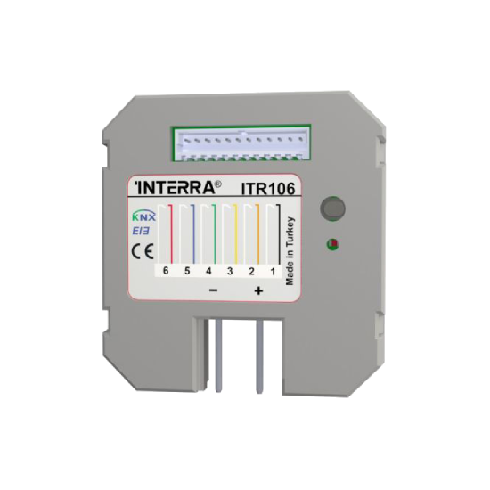 Picture of 6 Channel KNX Push Button Interface
