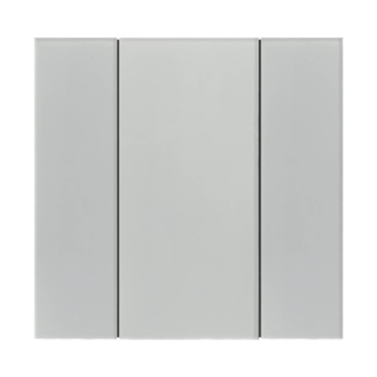 Picture of iSwitch - 2 Button White Glass Effect