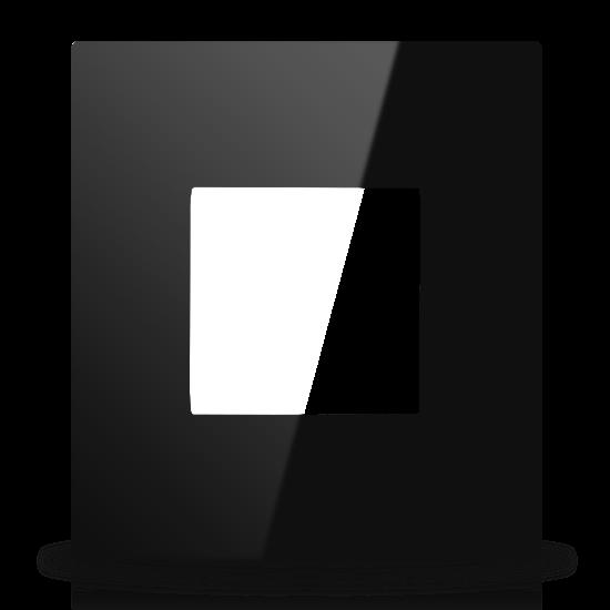 Picture of MONA BLACK FRAME MODULAR BRITISH SINGLE 2M