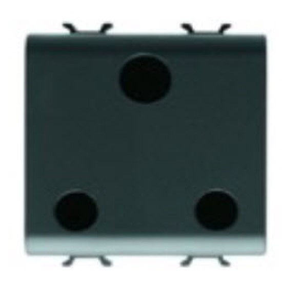 Picture of S. OUTLET 2M 2P+E 15A UK ANTHRACITE
