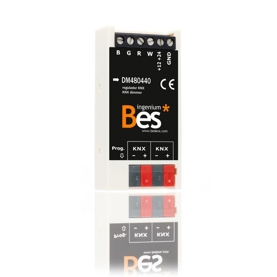Picture of 4-channel dimmer to regulate RGB+White LED modules