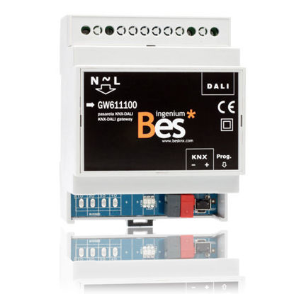 Picture of KNX – DALI. 1/16/64 gateway - DIN format