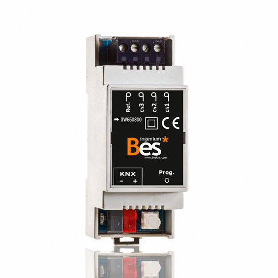 Picture of 3-channel consumption meter - DIN format
