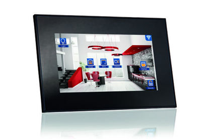 """Picture of VIIP-7E-7,1"""" KNX touch Screen + WiFi + 1xRJ45 + SIP - Black"""
