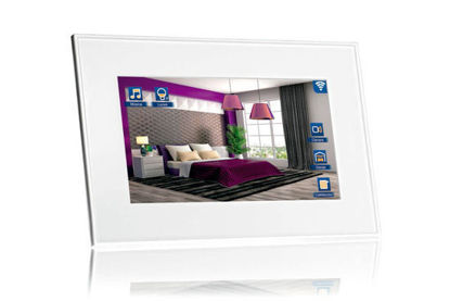 """Picture of VIIP-7D-7,1"""" KNX touch Screen + WiFi + 2xRJ45 + SIP - White"""