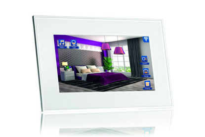"""Picture of VIIP-10W-10,4"""" KNX touch Screen + WiFi + SIP - White"""