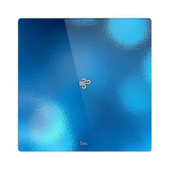 Picture of Square thermostat - Temperature sensor - Capriccio black