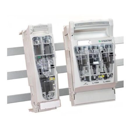 Picture for category NH-Bus bar mounting fuse load break switch KE