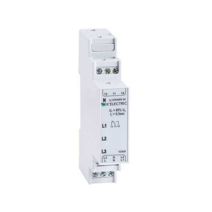 Picture of Control relay phase 3F, 1 CO, 3 LEDs,