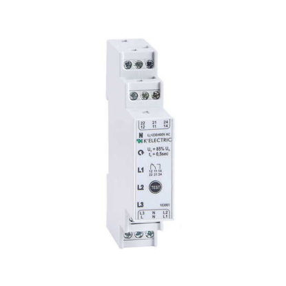 Picture of Phase control relay 3F, 2 CO, 3 LEDs, voltage control